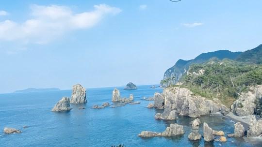 ヴェゼルで青海島へ行ってみた