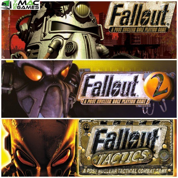 Fallout 1, 2 and Tactics Free Download