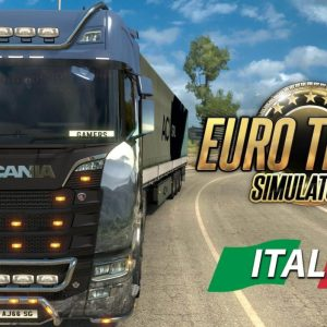Euro Truck Simulator 2 Italia Free Download From themacgames.ne
