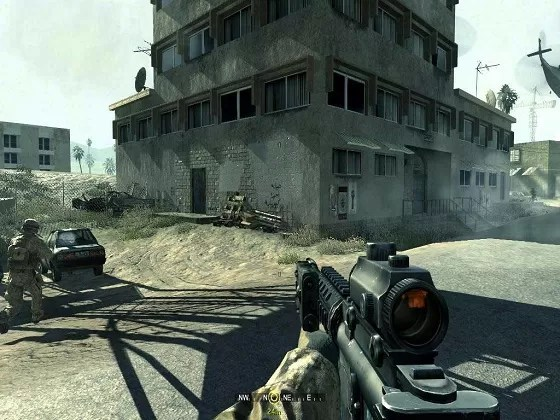 Call of Duty 4 Modern Warfare Mac OS X