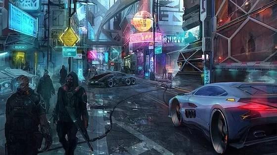 Cyberpunk 2077 Mac OS X