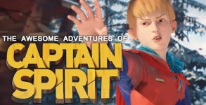 The Awesome Adventures of Captain Spirit Mac OS X