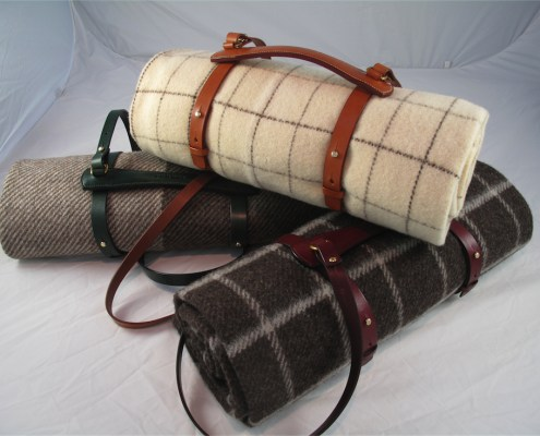 Blanket & Leather Carrier