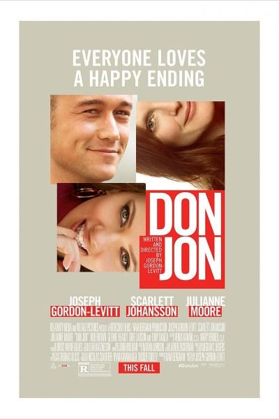 Movie Poster for Don Jon from director Joseph Gordon-Levitt