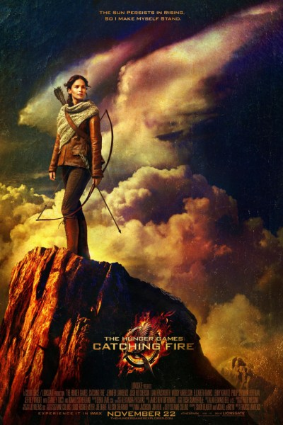 The Hunger Games: Catching Fire Movie Poster from director Francis Lawrence and starring Jennifer Lawrence