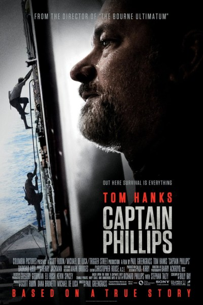 Captain Phillips Movie Poster from director Paul Greengrass and starring Tom Hanks