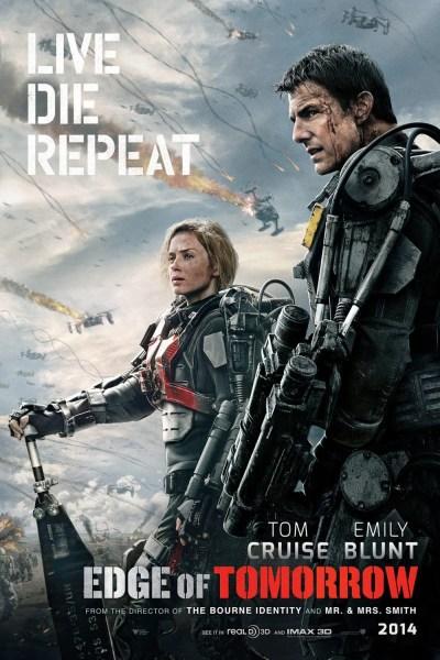 Edge of Tomorrow Movie Poster
