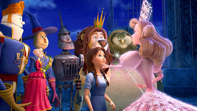Legends of Oz: Dorothy's Return Movie Header Image