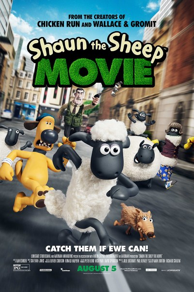 Shaun the Sheep Movie Poster