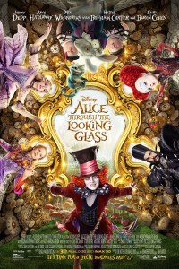 Alice Through the Looking Glass Movie Poster