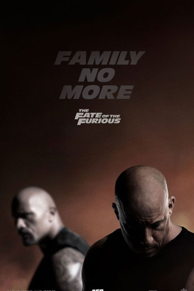 Fate of the Furious Movie Poster