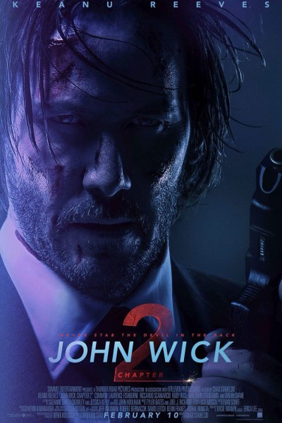 John Wick Chapter 2 Movie Poster Image