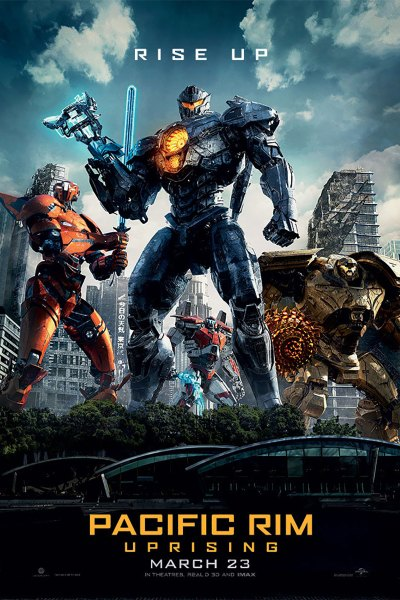 Pacific Rim: Uprising Movie Poster