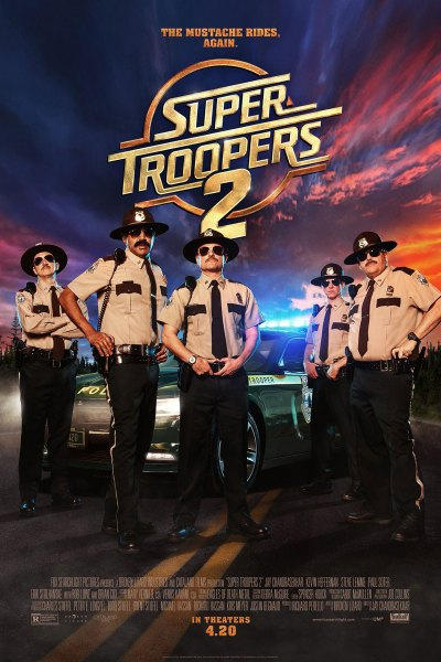 Super Troopers 2 Movei Poster