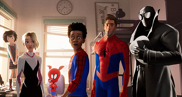 Spider-Man: Into the Spider-Verse Movie Still 1