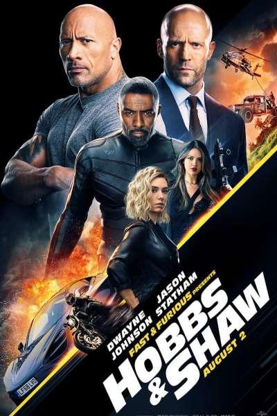 Hobbs & Shaw Movie Poster