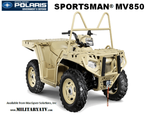 Polaris MV850 Military ATV