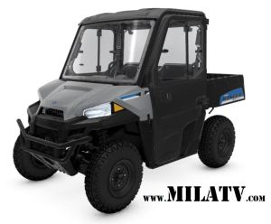 2019 Polaris Ranger EV with Cab