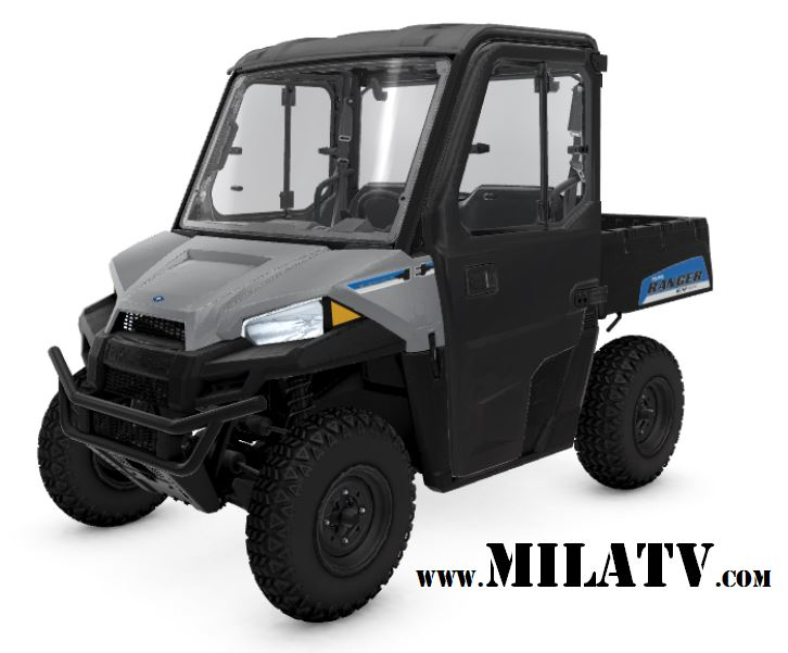 2019 Polaris Ranger EV with Cab