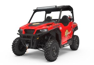 Polaris General 1000 with RKO Compressed Air Foam System installed.