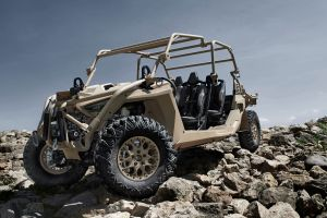The new Polaris MRZR Alpha LTATV