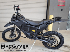 Zero Electric Motorcycle for US Military