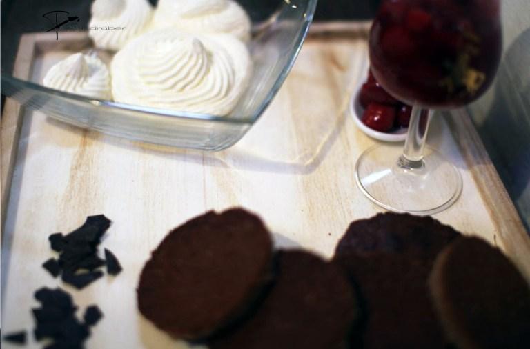 Schwarzwälder Kirschkuchen im Glas-einfach zubereitet