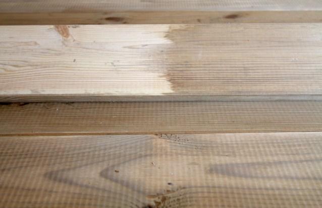Holz künstlich altern lassen-kleine Anleitung