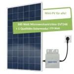 Solar-Autark 280 Watt Solar-Set