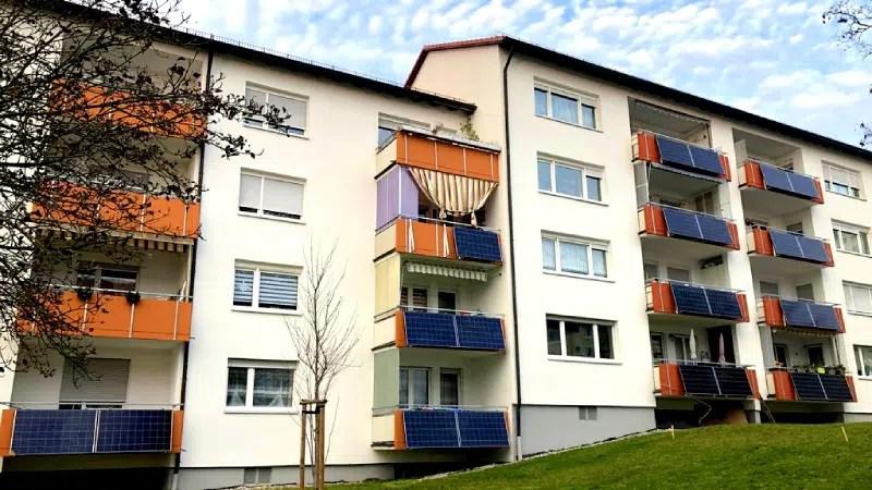 Balkonkraftwerke Mehrfamilienhaus