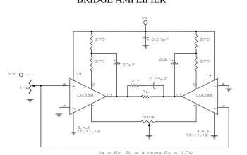 Mạch đấu cầu tăng công suất Ampli khi dùng với nguồn điện áp thấp