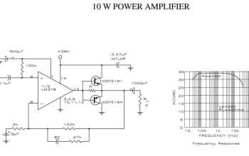 Mạch khuếch đại âm thanh 10W sử dụng nguồn đơn