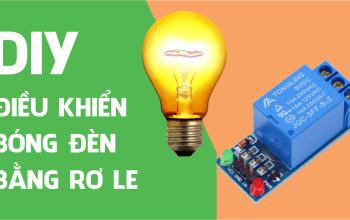 Điều khiển Đèn 220V bằng Realy sử dụng Arduino