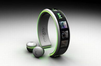 Creative Wrist Mp3 Player Concept