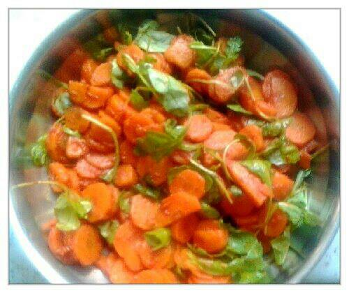 jerusalem dinner_insalata di carote ed harissa