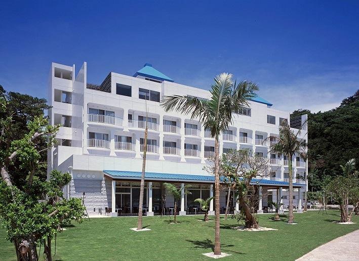 奄美山羊島ホテル外観写真
