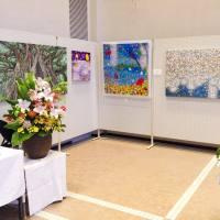 村上弘人絵画展風景
