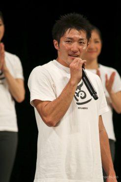 山下さんのオープニングスピーチ