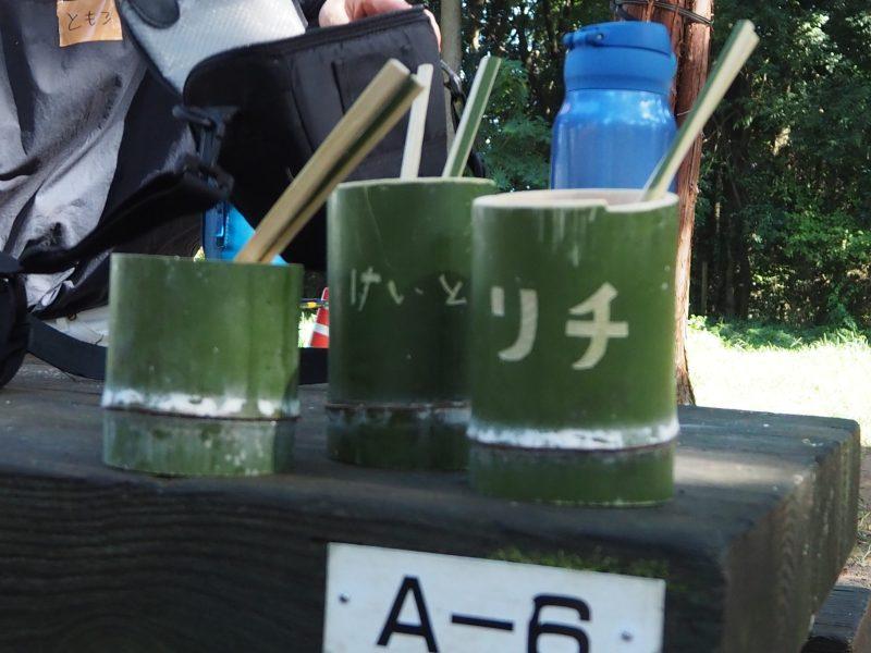オリジナルの竹食器