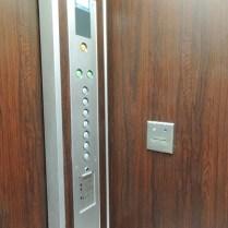 セキュリティカード式エレベータ