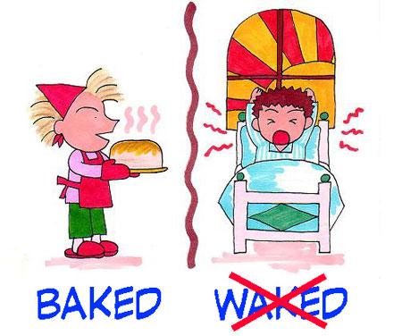 baked/waked