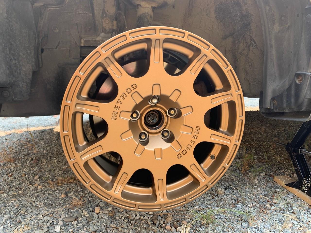 Method 502 15x7 wheels on a 2009 Subaru Forester 2.5xt