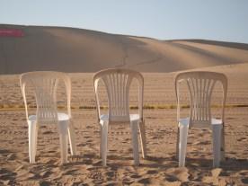 Así se disfruta en el desierto