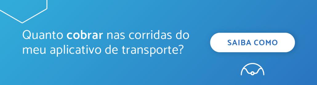 """Banner """"Quanto cobrar nas corridas do meu aplicativo de transporte?"""""""