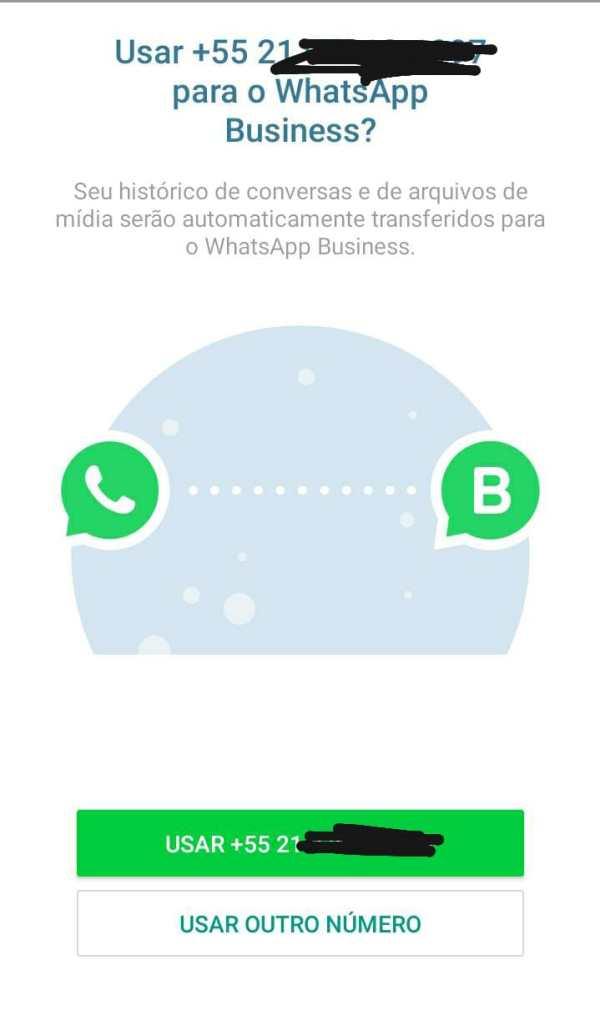 Captura de tela do whatsapp
