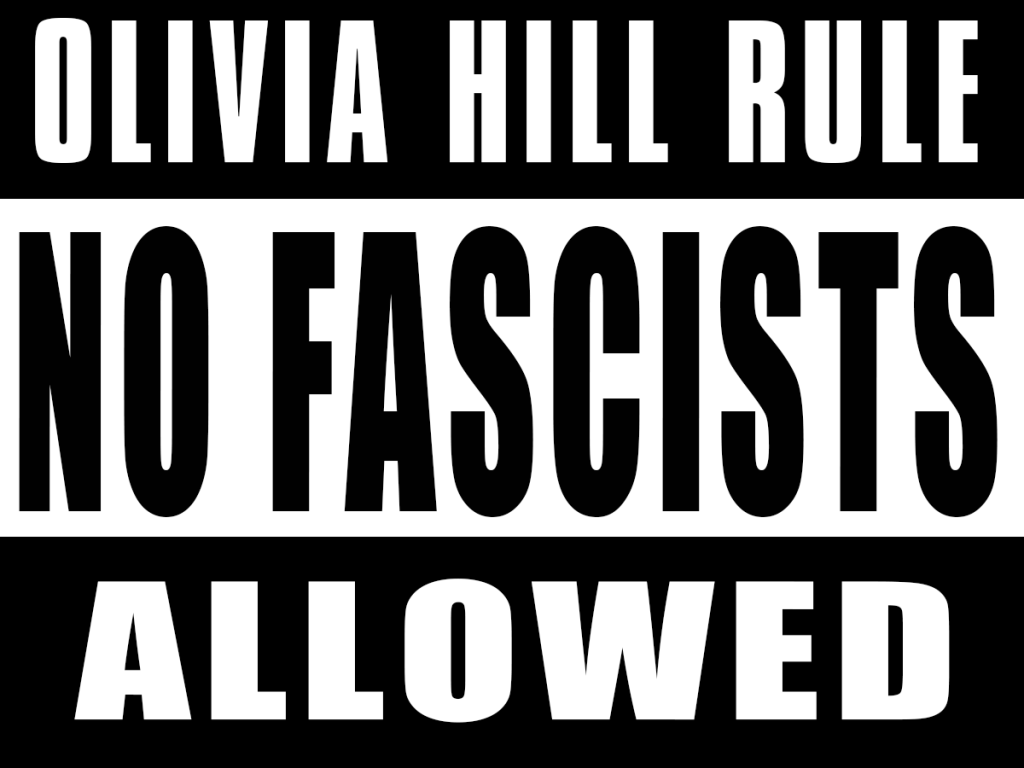 [Nada de Fascistas](https://i1.wp.com/machineage.tokyo/wp-content/uploads/2020/03/Olivia-Hill-Rule.png?resize=400%2C768&ssl=1)