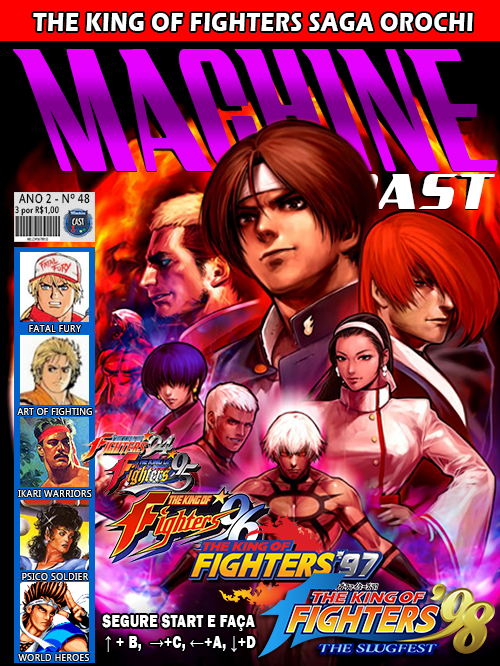 MachineCast #48 – The King of Fighters – Saga Orochi