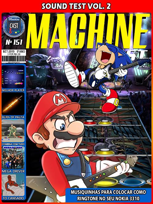 MachineCast #151 – Sound Test Vol  2 - MachineCast