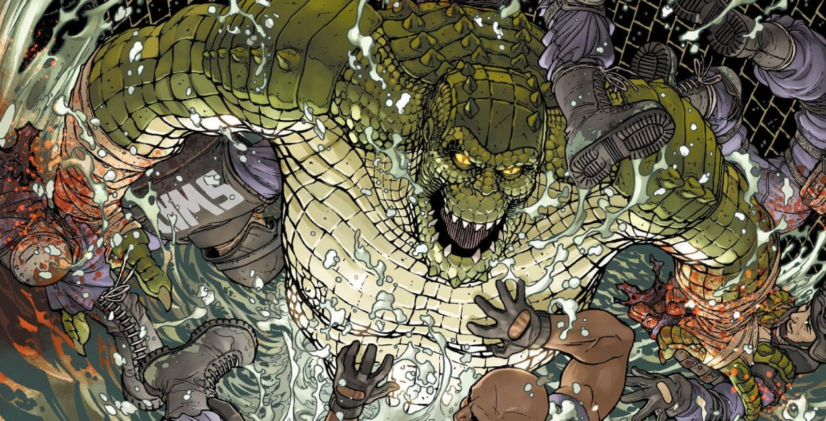 Killer Croc A Few Things You Might Want To Know Machine