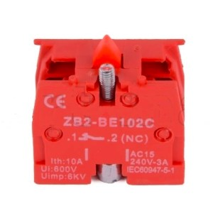 Contact Schneider ZB2-BE102